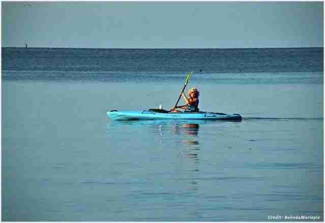 kayaking in Chesapeake Bay