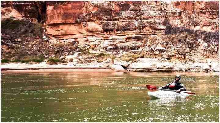 Kayaking in Colorado River