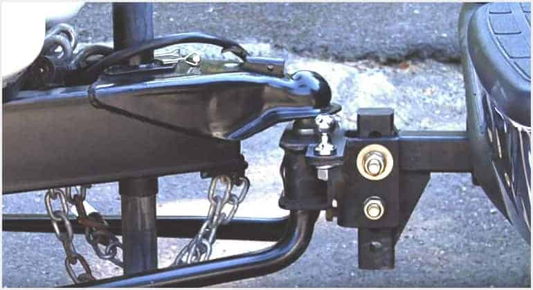 weight distribution hitch hook up brackets