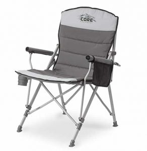 Padded Hard Arm Camping Chair