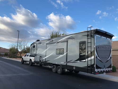 Fifth Wheel Toy Haulers