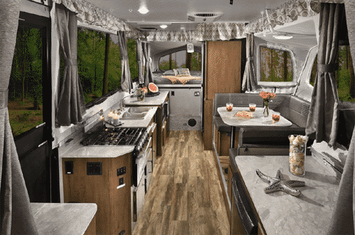 Interior Pop Up Camper