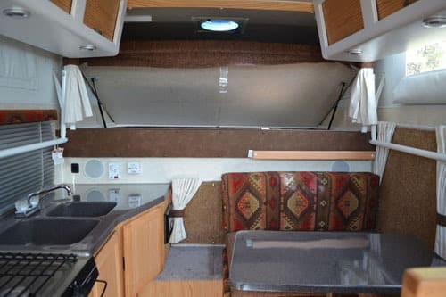 Interior Pop Up Truck Camper