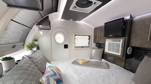 Interior TearDrop Trailer
