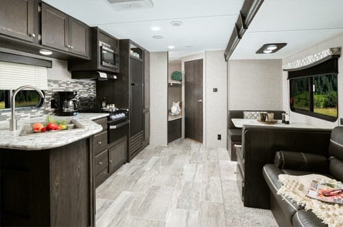 Interior Travel Trailer