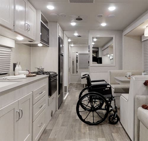 Interior of Disable Special RV